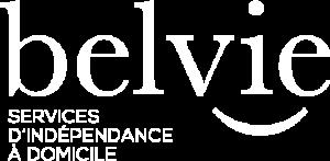 Logo blanc petit BELVIE DEFS